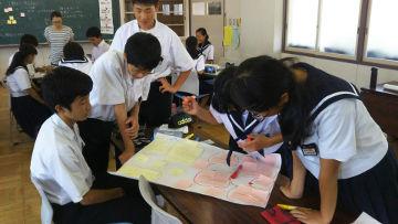 中学生対象のワークショップ